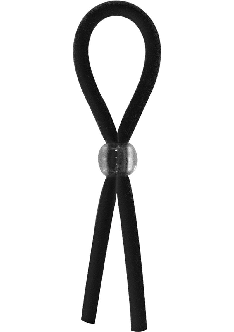 Ram Squeezer Adjustable Cock Ring Black