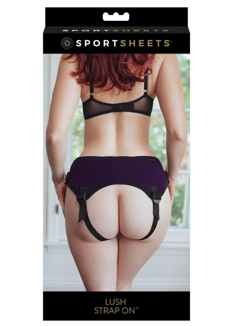 Lush Strap On Harness Purple