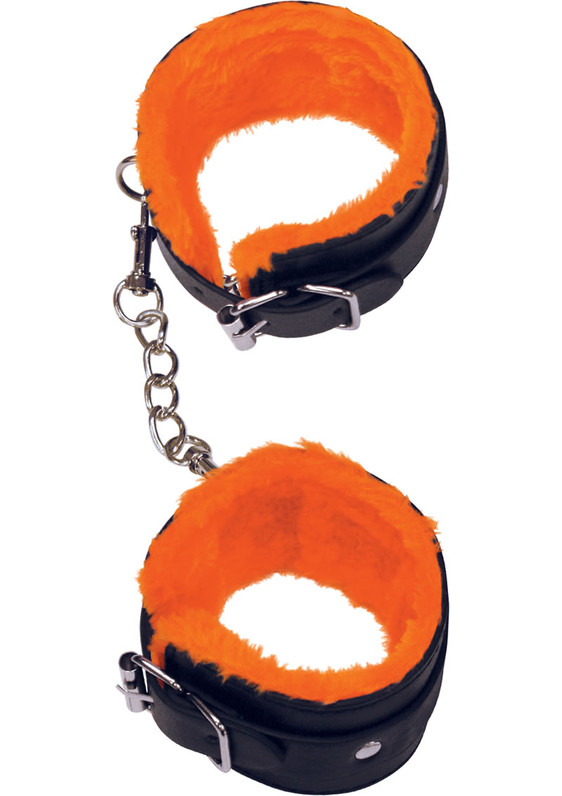 Orange Is The New Black Furry Love Cuffs Adjustable Ankle Cuffs