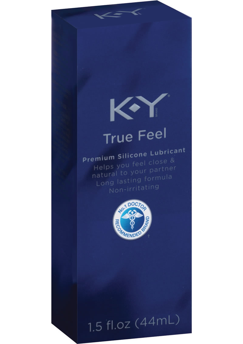 KY True Feel Premium Silicone Lubricant 1.5 Ounce