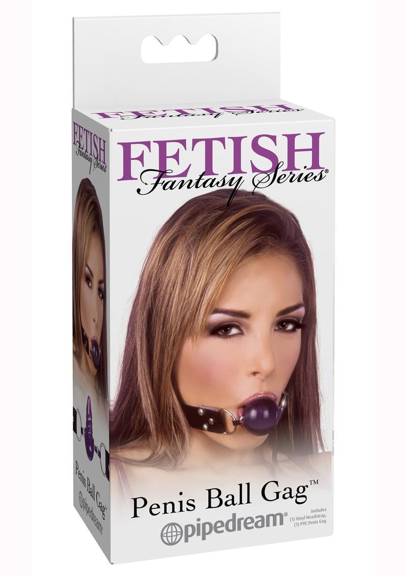 Fetish Fantasy Series Penis Ball Gag Purple
