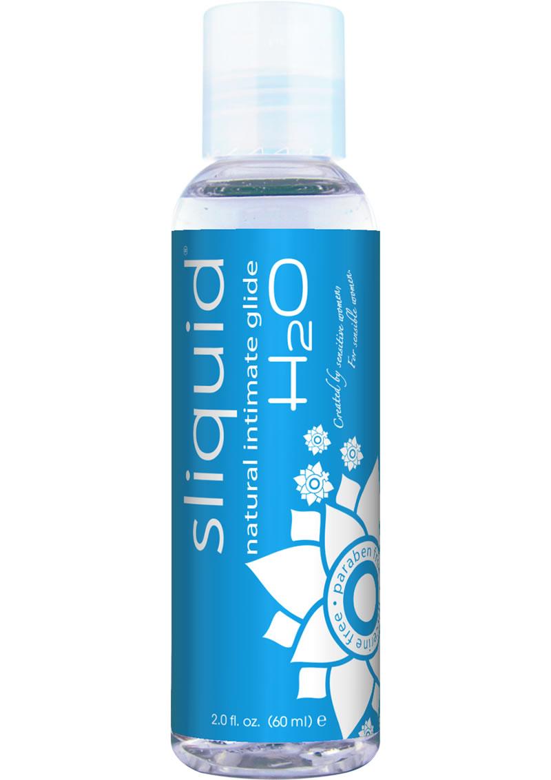 Sliquid Natural Intimate Glide H2O Paraben Free 2 FL OZ