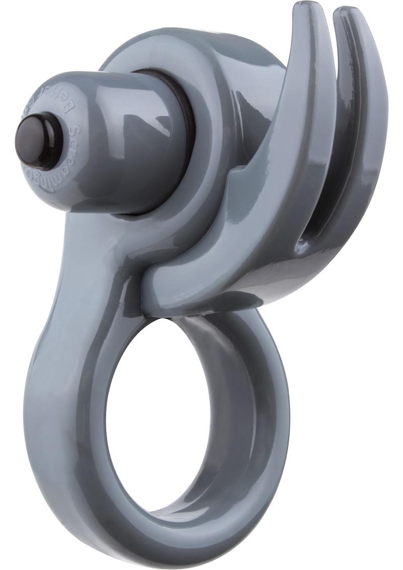 Orny Reuseable Ring Vibe Latex Free Waterproof Grey