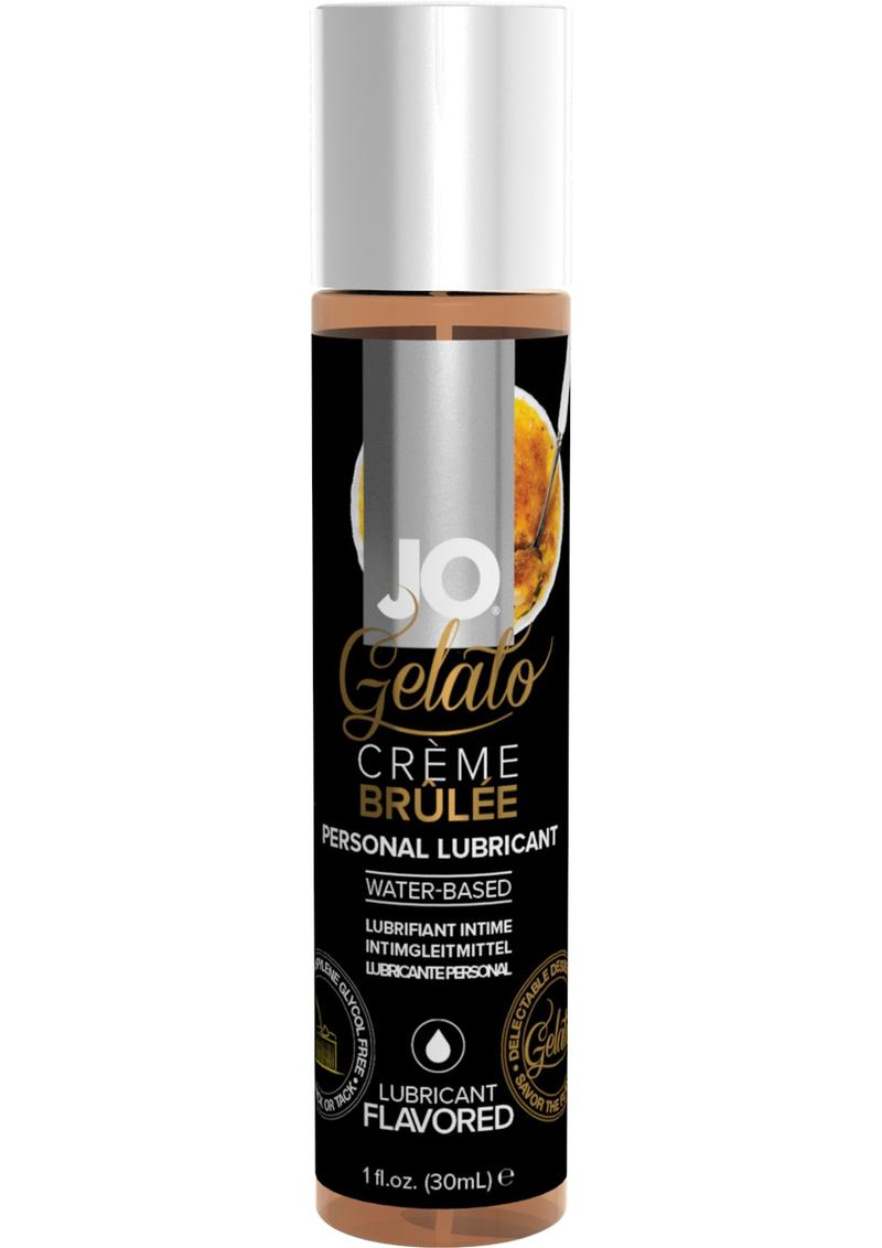 Jo Gelato Water Based Personal Lubricant Creme Brulee 1 Ounce Bottle