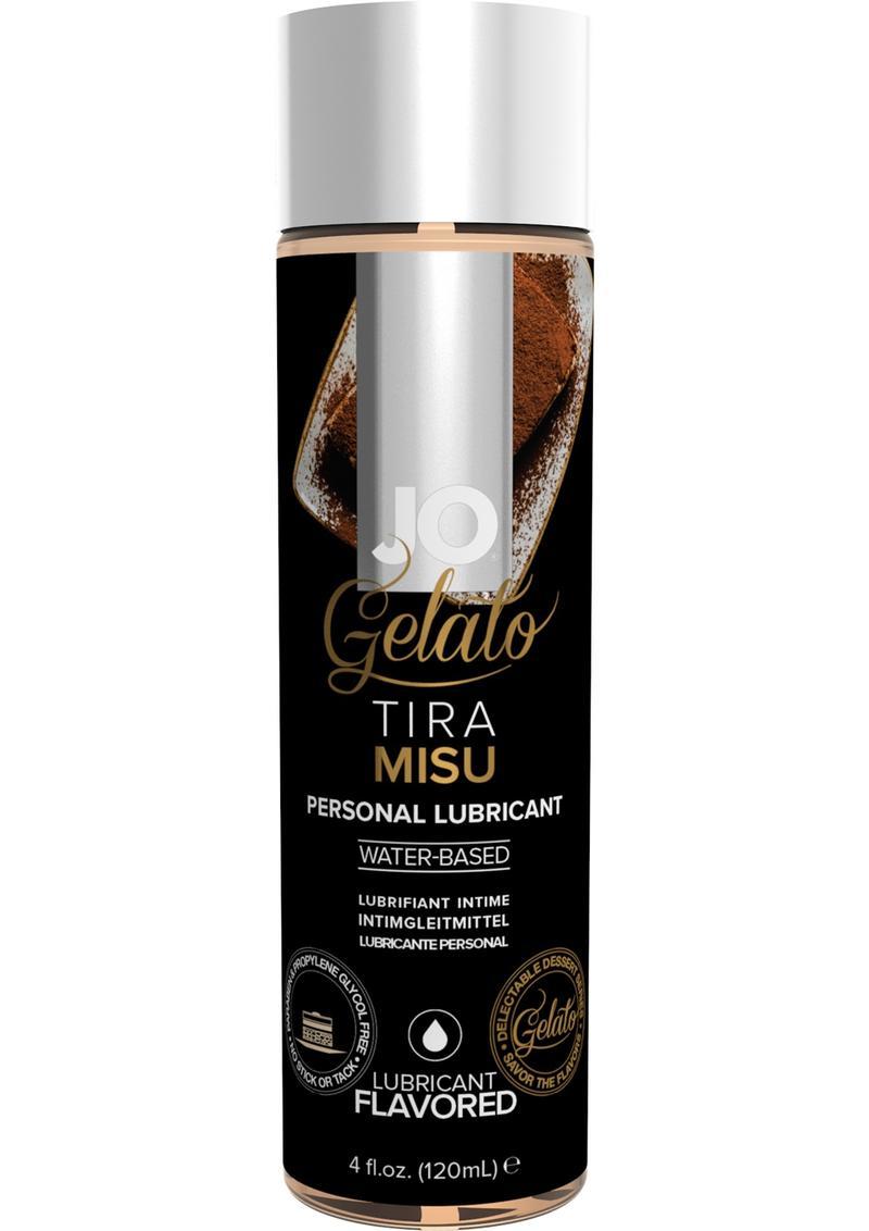 Jo Gelato Water Based Personal Lubricant Tiramisu 4 Ounce Bottle