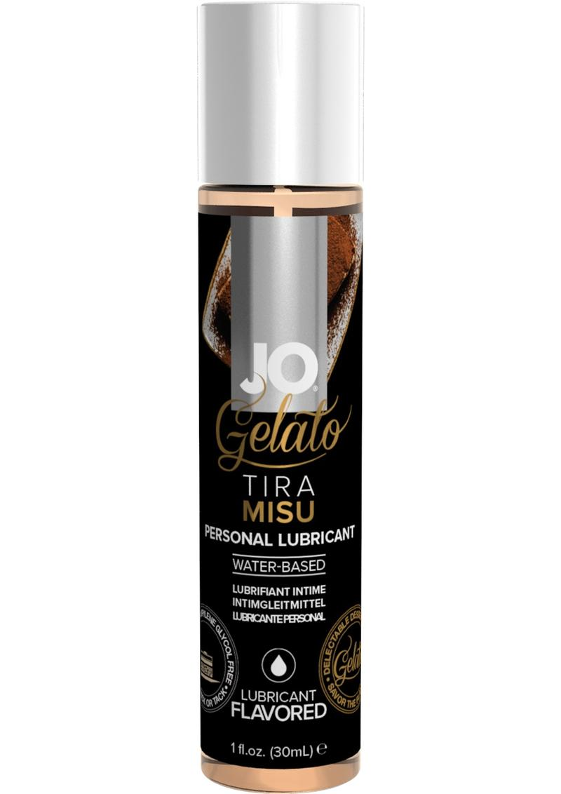 Jo Gelato Water Based Personal Lubricant Tiramisu 1 Ounce Bottle