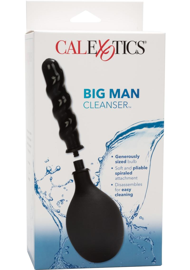 Big Man Cleanser Anal Douche Black