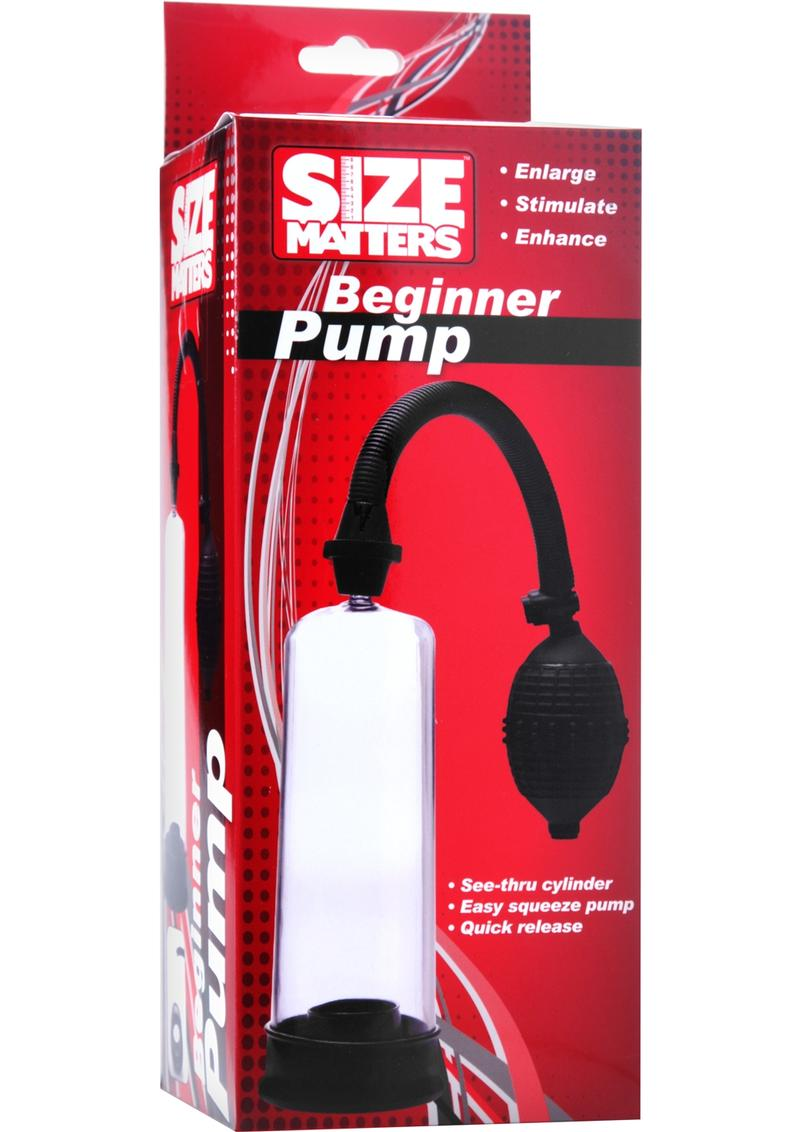 Size Matters Beginner Pump Black And Clear