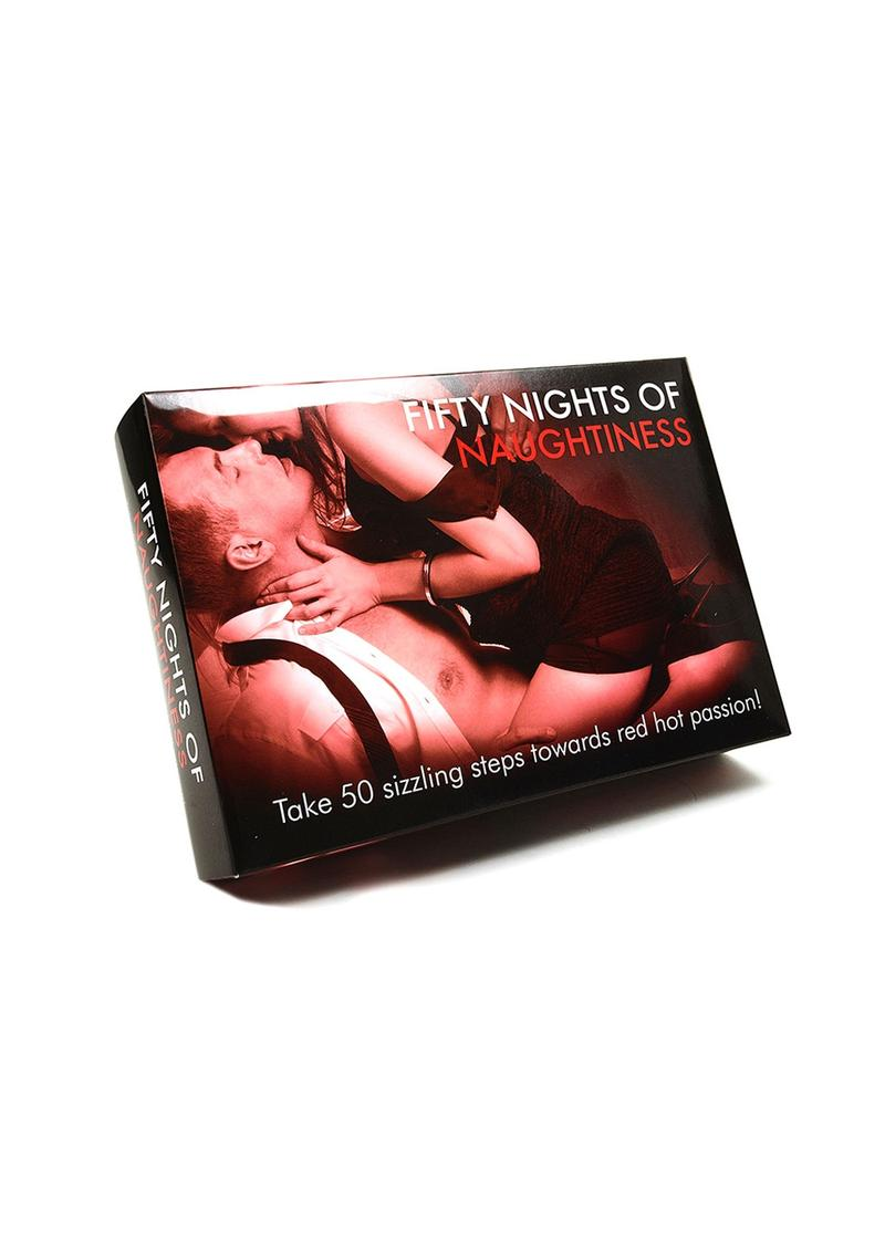 Fifty Nights Of Naughtiness Couples Collection Kit