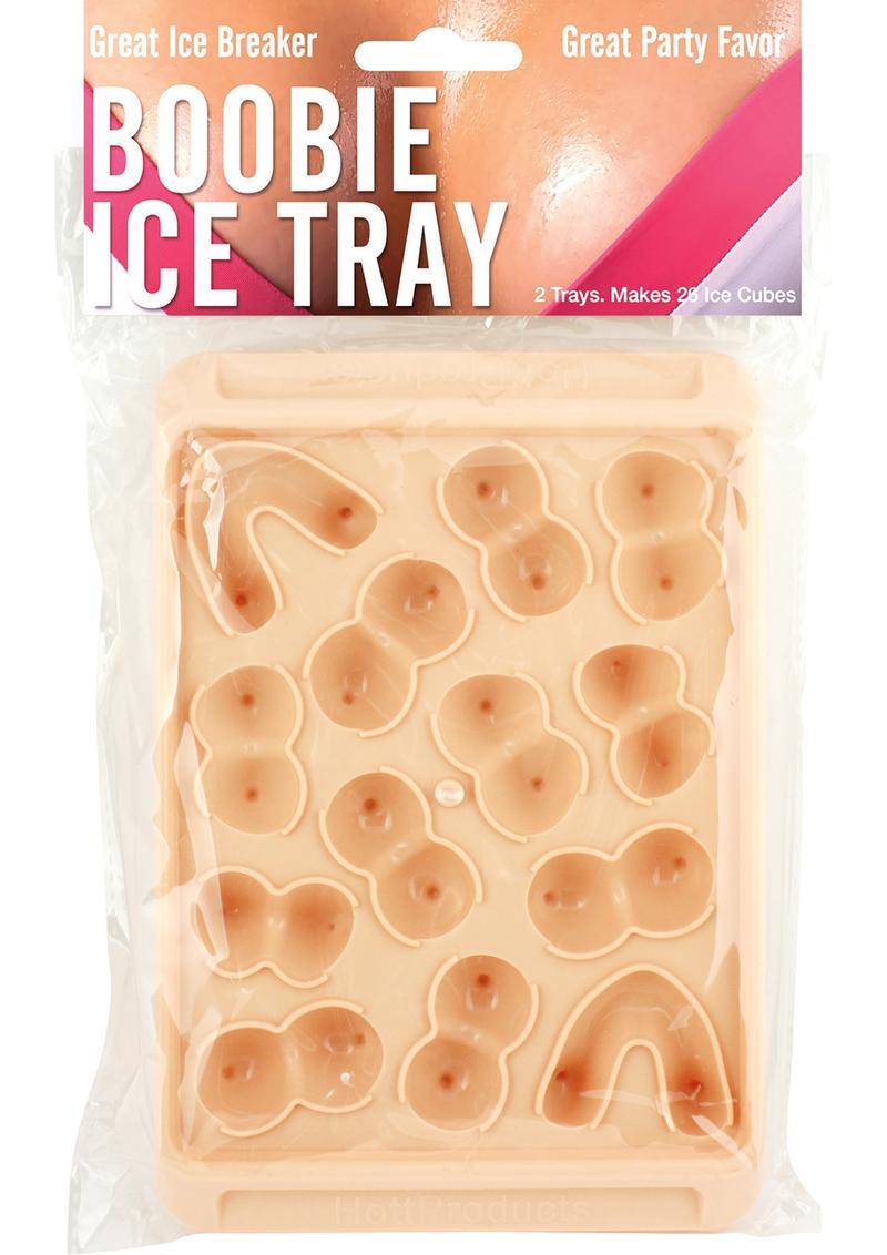 Boobie Ice Tray Flesh 2 Pack