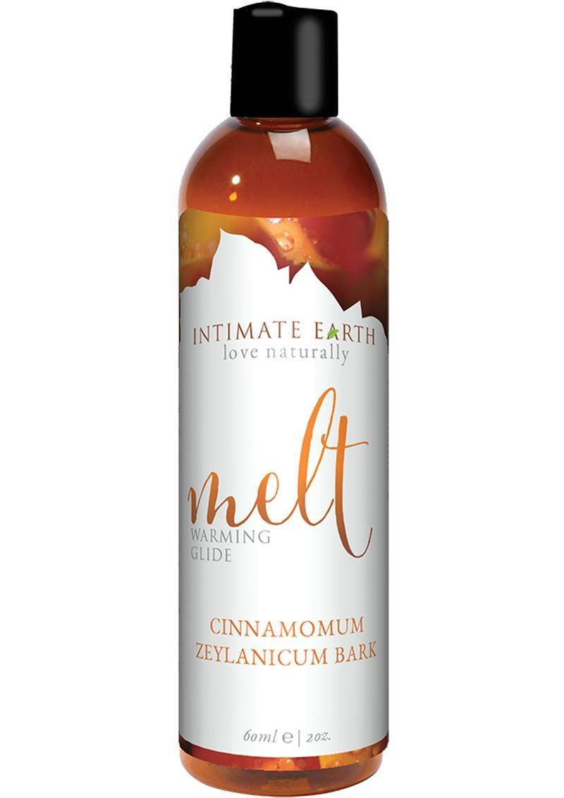 Intimate Earth Melt Warming Glide Cinnamomum Zeylanicum Bark 2oz