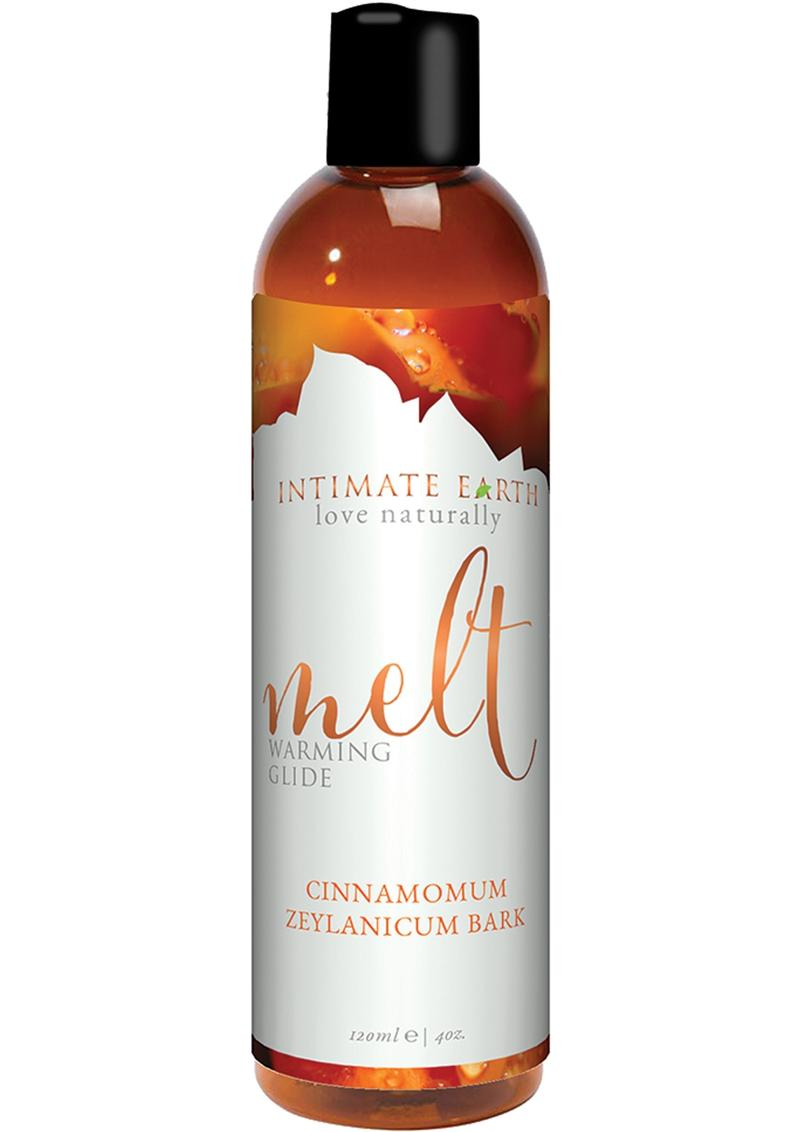 Intimate Earth Melt Warming Glide Cinnamomum Zeylanicum Bark 4oz