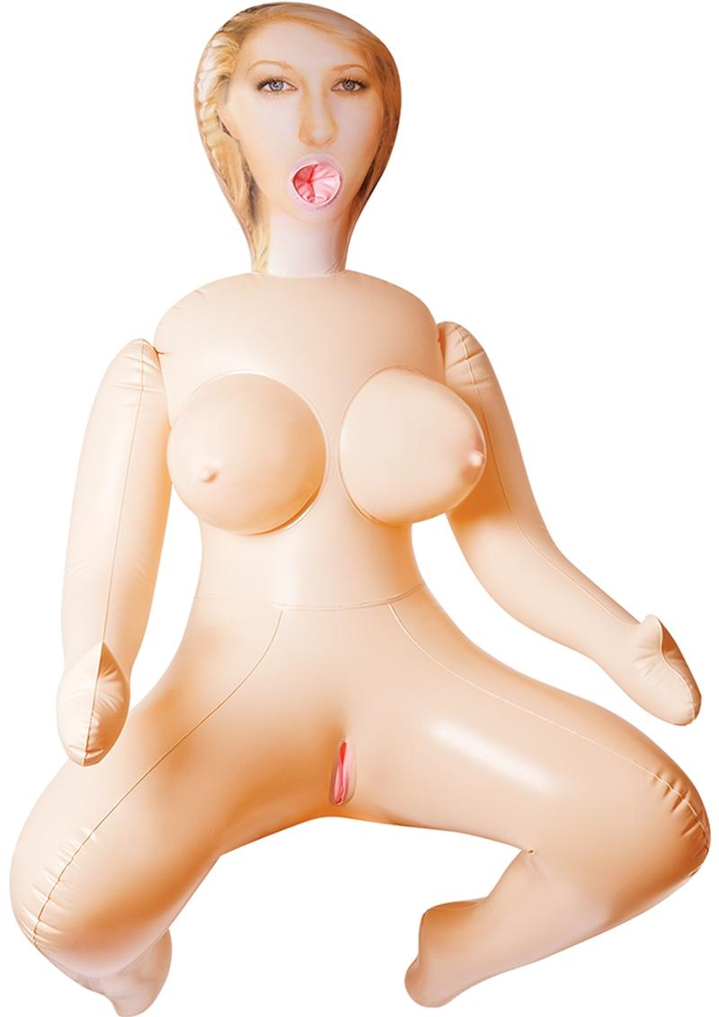 Inflatable Love Doll Vanessa With 3 Tempting Holes Flesh