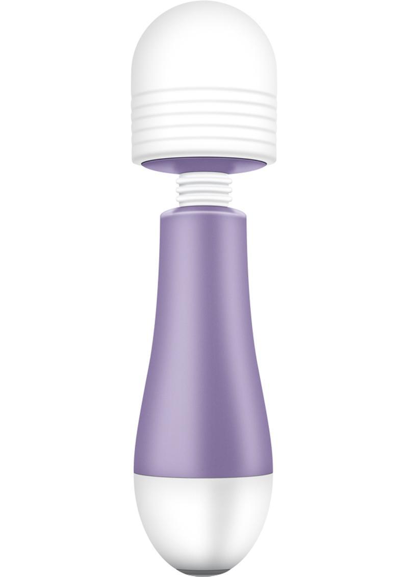 Noje W1 Silicone USB Rechargeable Mini Massagers Waterproof Wisteria Purple