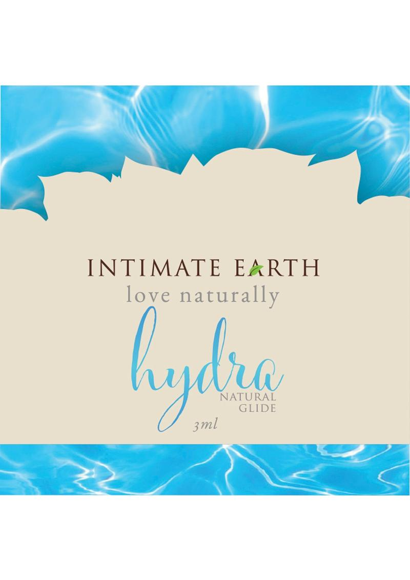 Intimate Earth Hydra Natural Glide Water Based Natural Plant Cellulose 3ml