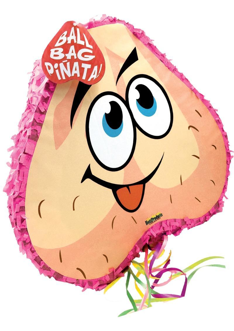 Ball Bag Pinata Pink