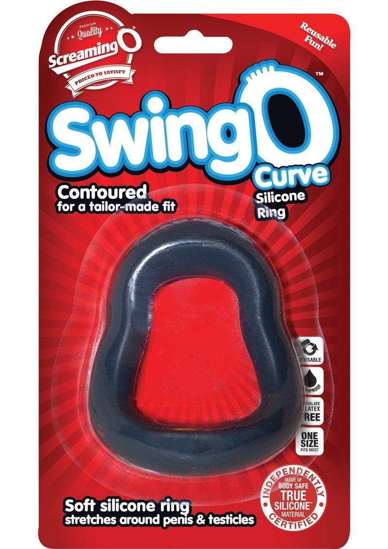 SwingO Curve Silicone Cockring Grey