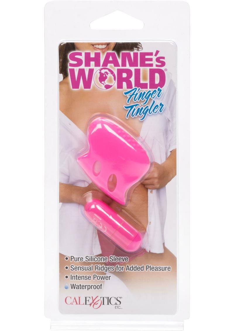 Shane`s World Finger Tingler Silicone Mini Massager Waterproof Pink