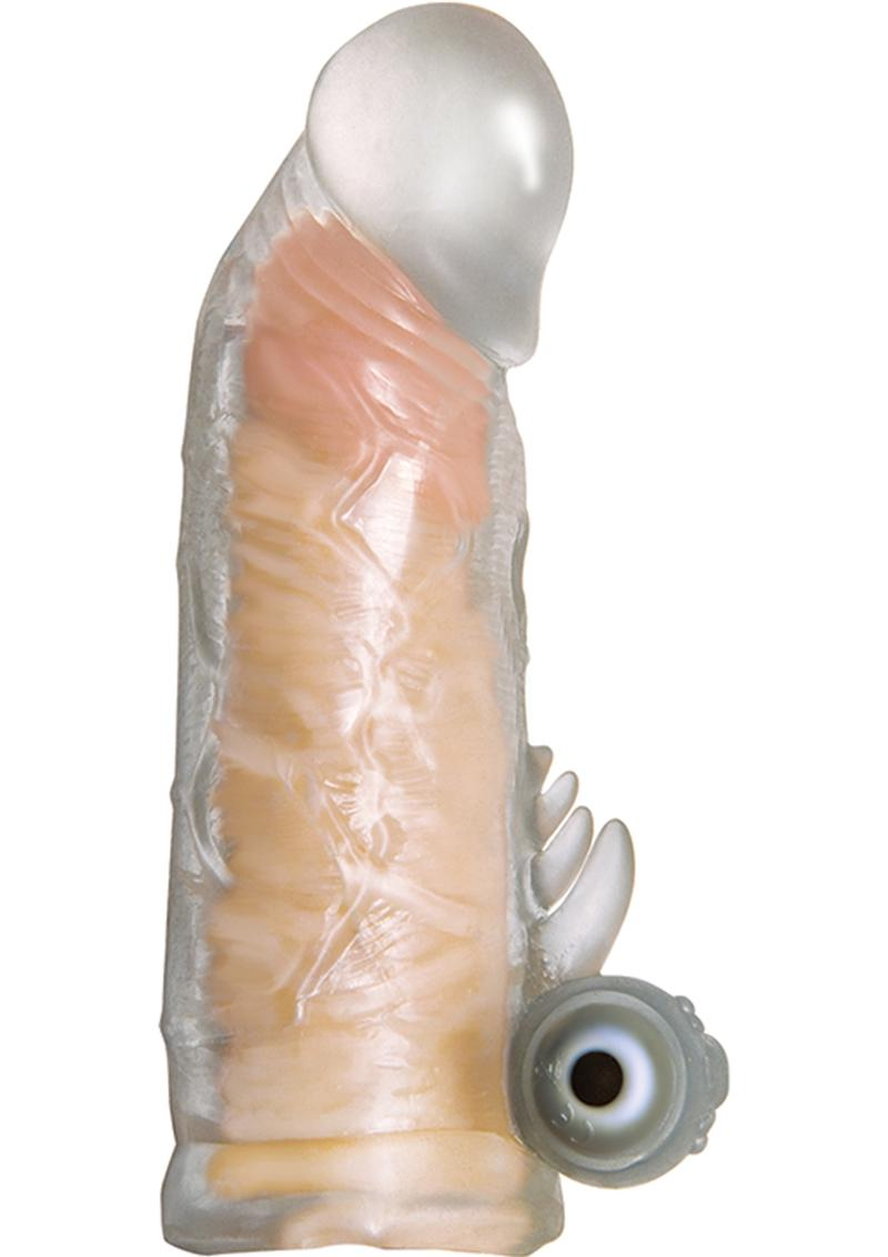 Maxx Gear Vibrating Grande Penis Extender Clear