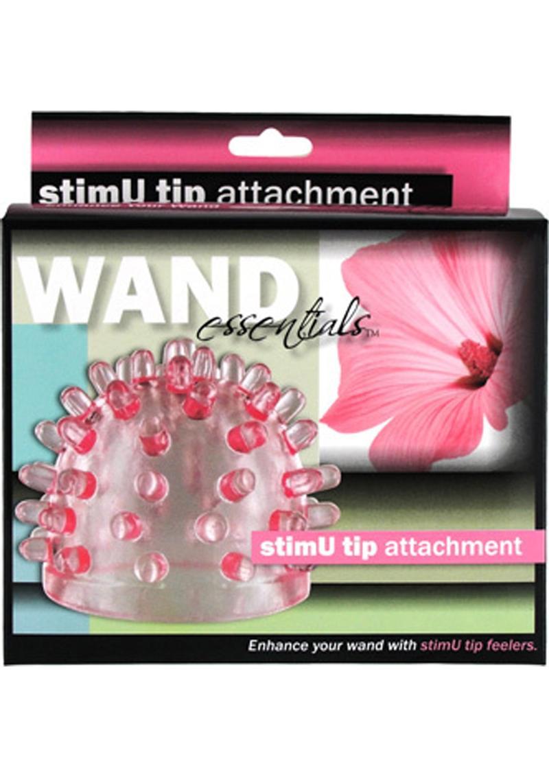 Wand Essentials StimU Tip Attachment Pink