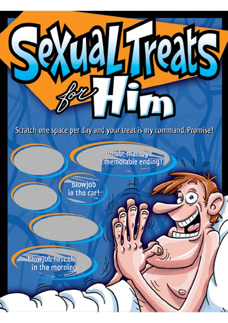 Sexy Scratcher Sexual Treats For Him Scratch Off