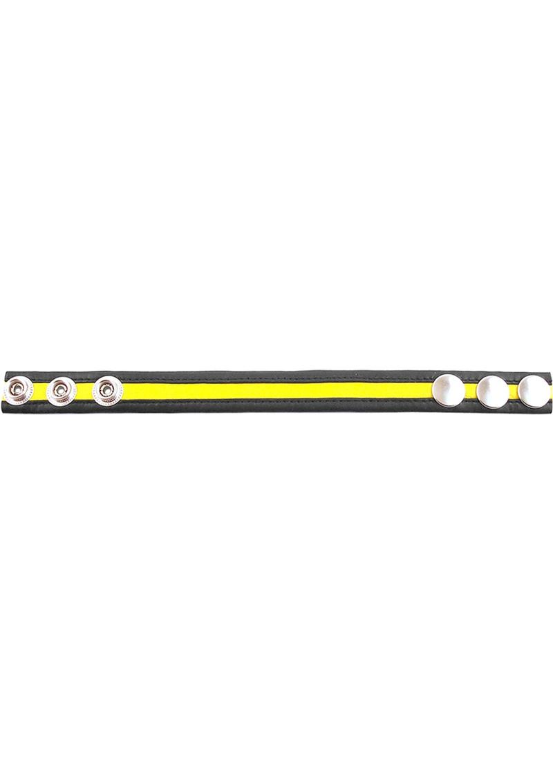 Rouge Cock Strap Yellow/black