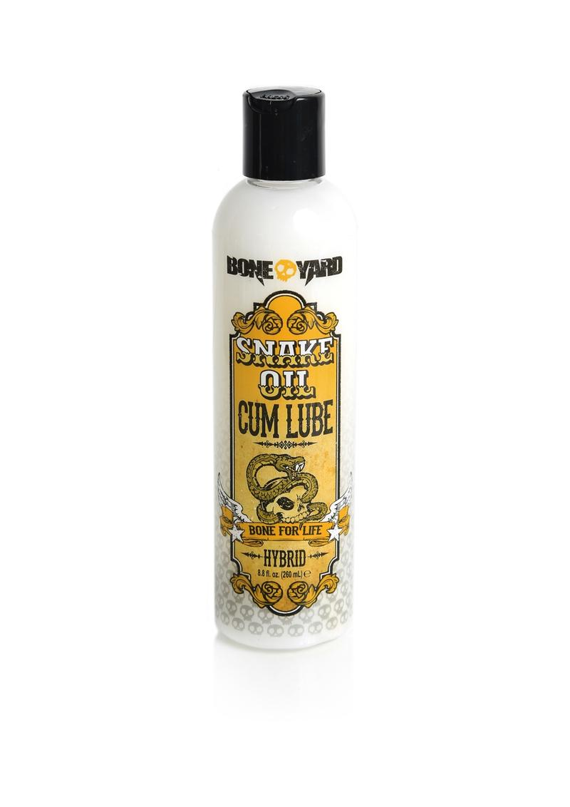 Bone Yard Snake Oil Cum Hybrid Lube 8.8 Ounce
