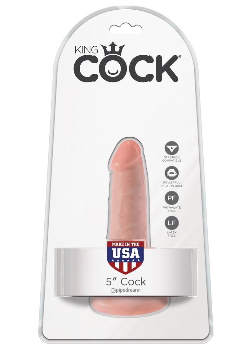 King Cock Realistic Dildo Flesh 5 Inch