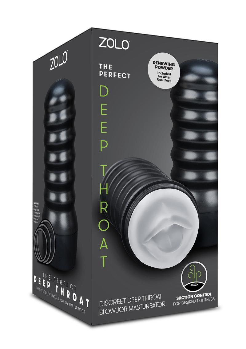 Zolo The Perfect Deep Throat Discreet Blowjob Masturbator Stroker Clear
