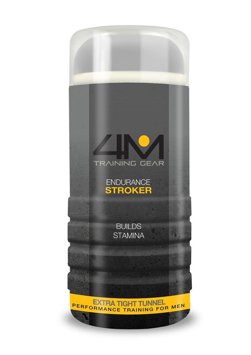 4M Training Gear Endurance Stroker Extra Tight Textured Masturbator