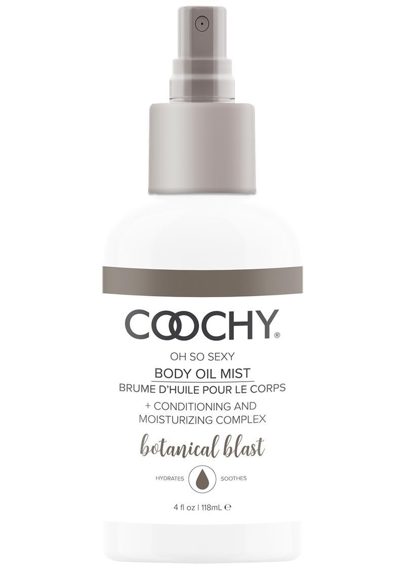 Coochy Oh So Sexy Body Oil Mist Botanical Blast 4 Ounce