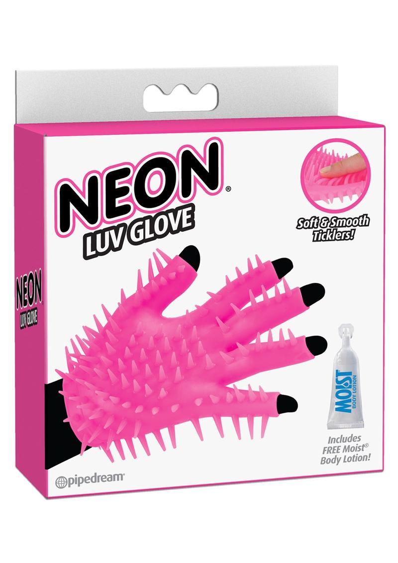Neon Luv Glove Pink