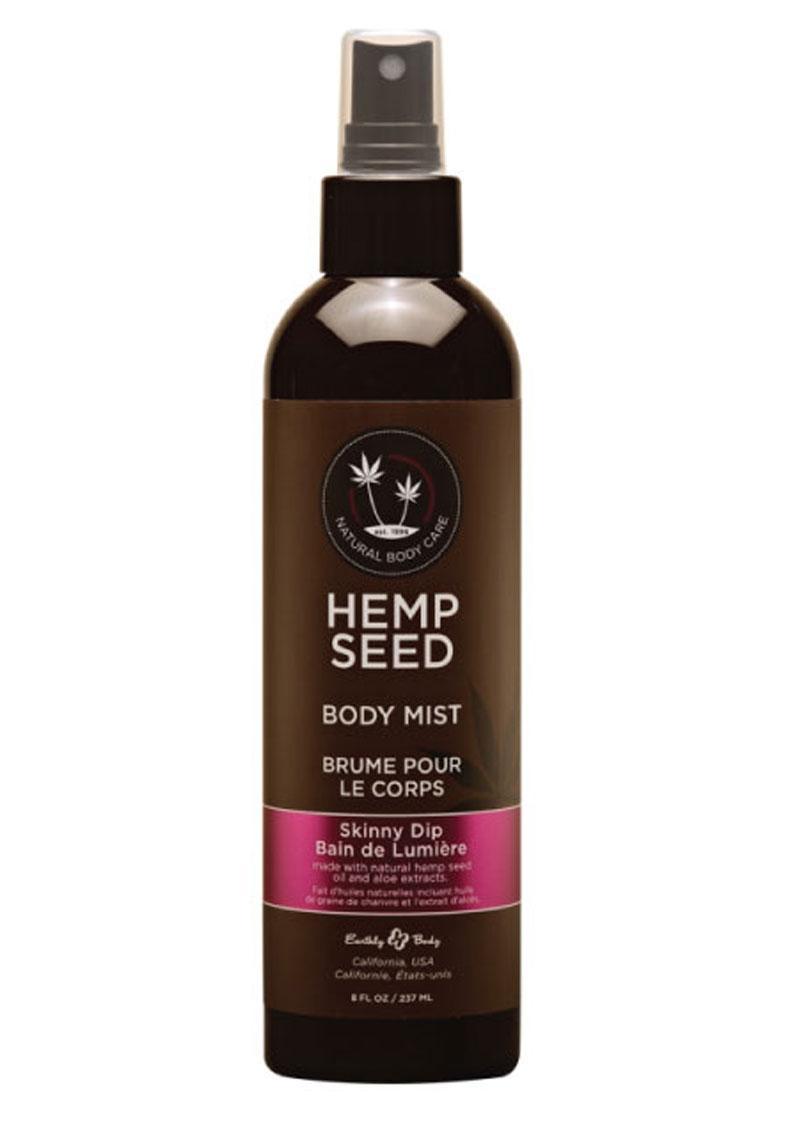 Hemp Seed Body Mist Spray Skinny Dip 8 Ounces