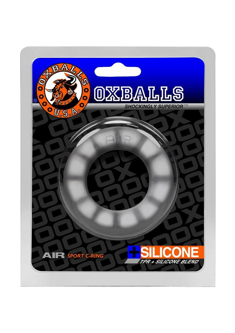 Air Silicone Blend Sport Cockring Cool Ice