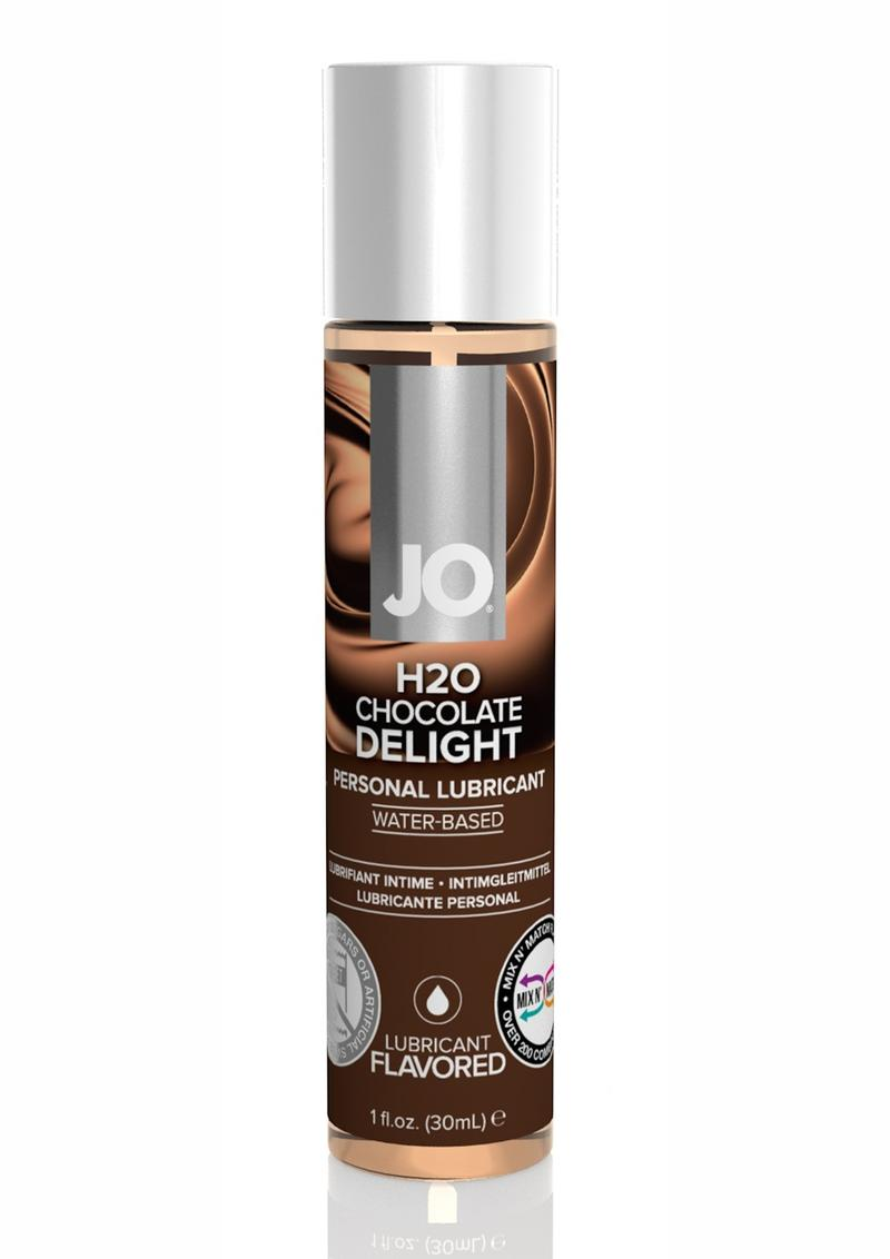 Jo H2O Water Based Flavored Lubricant Chocolate Delight 1 Ounce