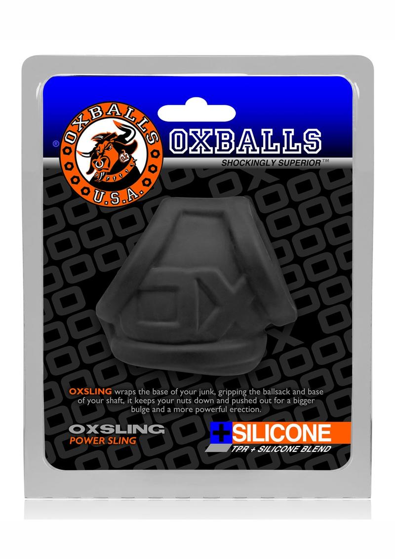 Oxsling Silicone Power Sling Black Ice