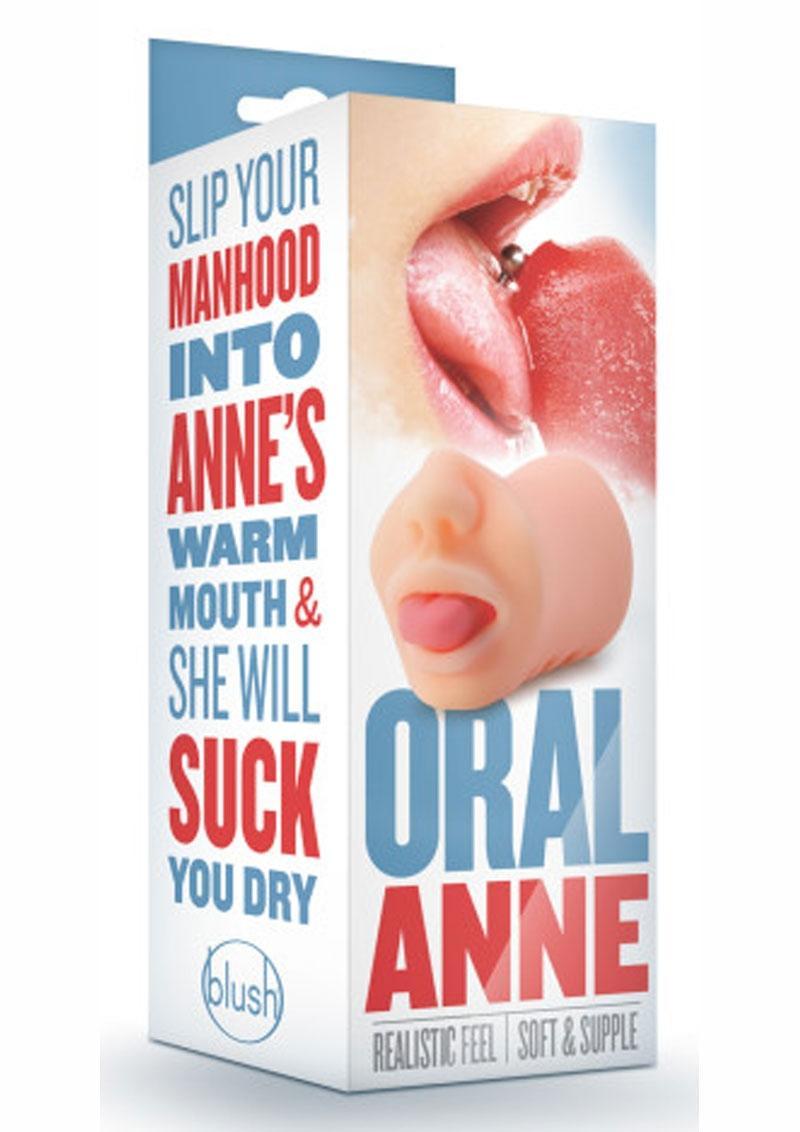 Blush Oral Anne Realistic Masturbator Vanilla