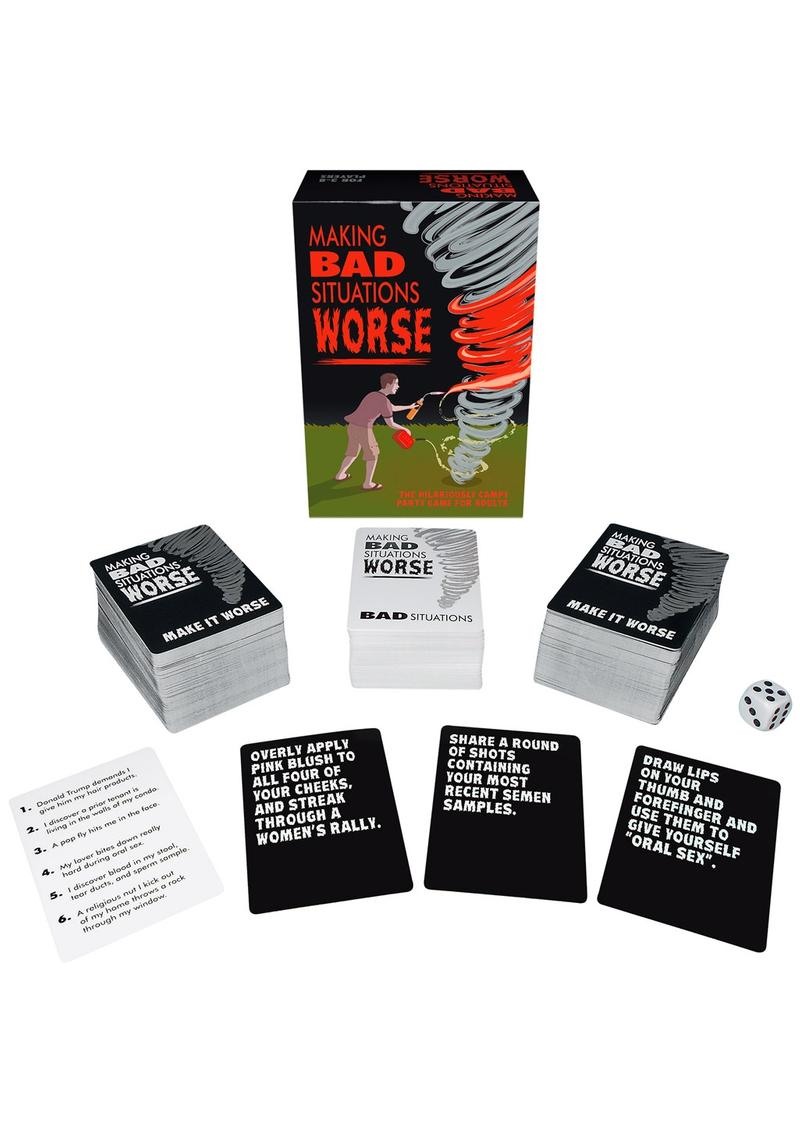 Making Bad Situations Worse Card Game