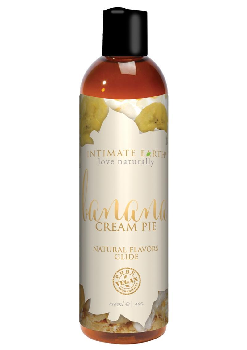 Intimate Earth Natural Flavors Glide Banana Creampie 4oz
