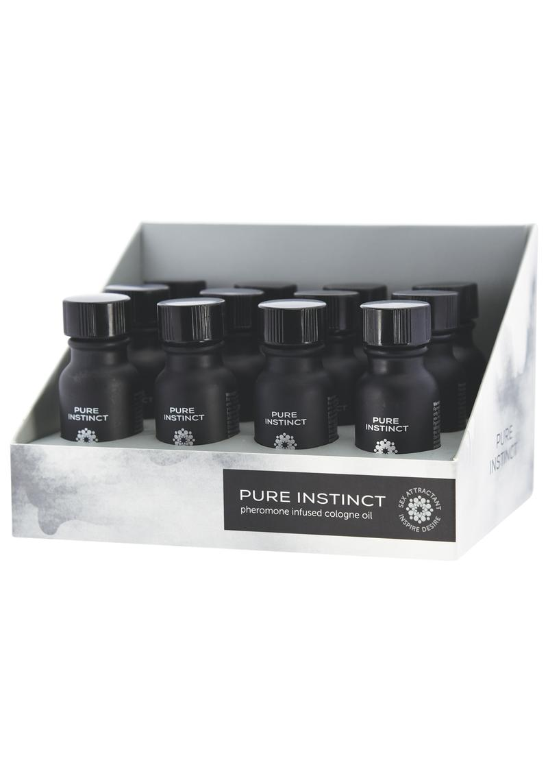 Pure Instinct Pheromone Infused Cologne For Him .5 Ounce Bottles 12 Each Per Counter Display