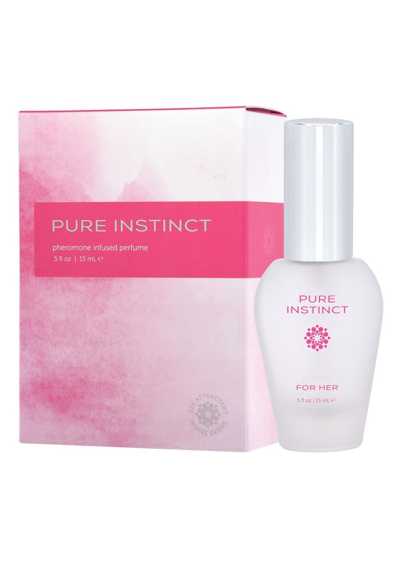 Pure Instinct Pheromone Infused Perfume For Her .5 Ounce Spray
