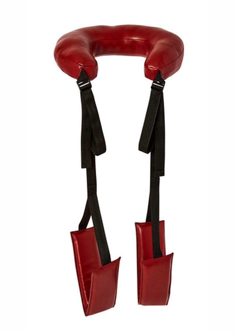 Saffron Thigh Sling Black/Red Adjustable