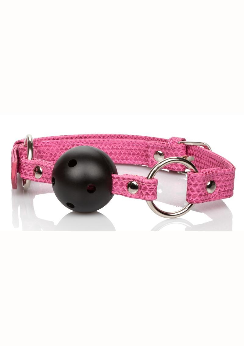 Tickle Me Pink Ball Gag
