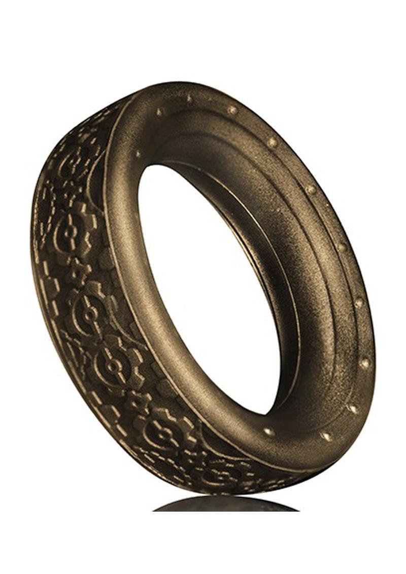 Cox Cog Cockring Bronze Textured Non Vibrating