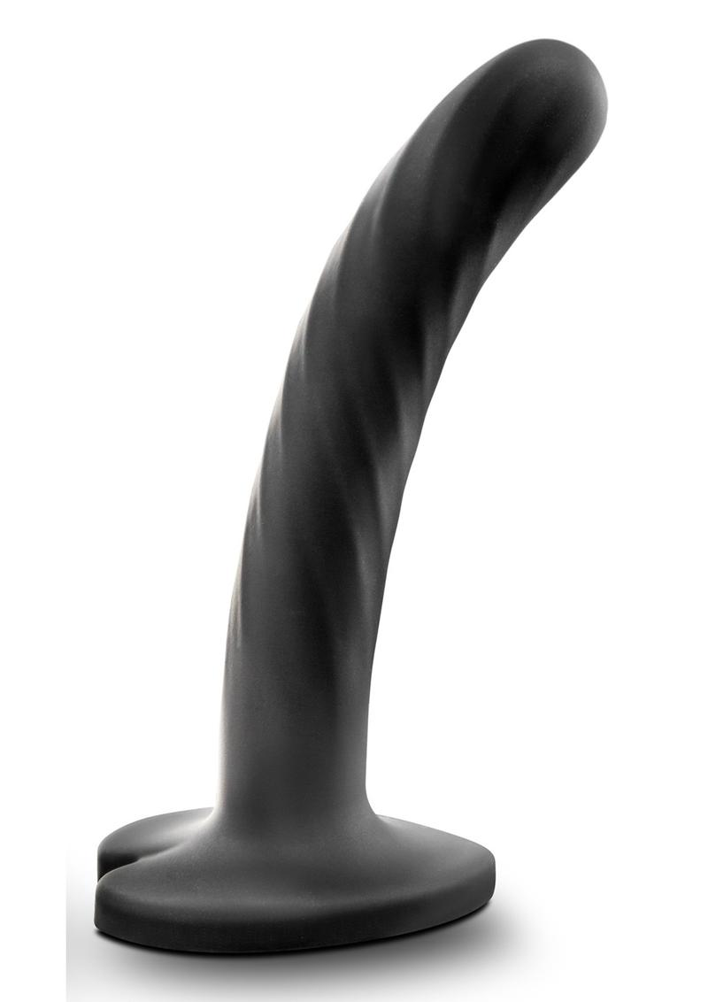 Temptasia Twist Dildo Small Silicone - Black