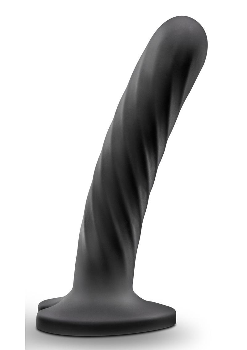 Temptasia Twist Dildo Medium Silicone - Black