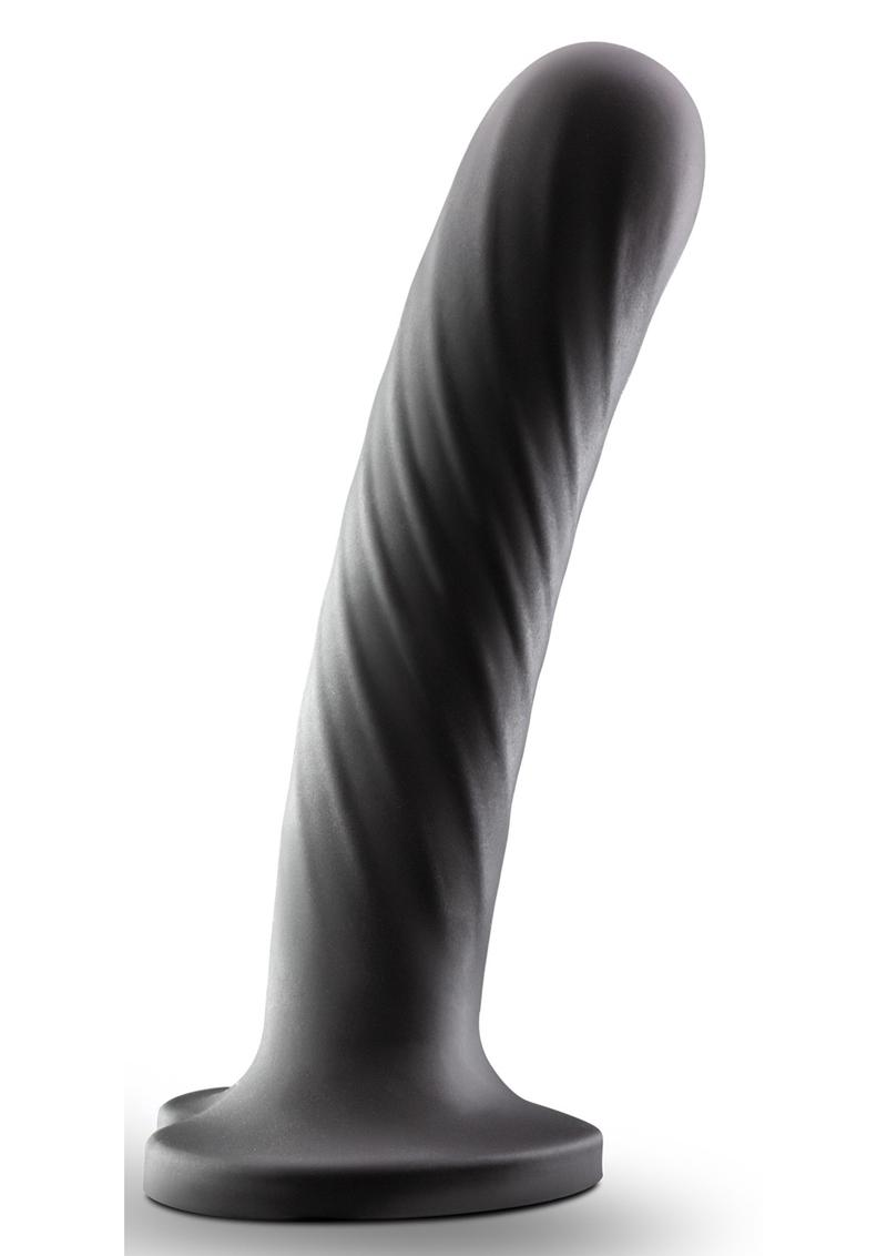 Temptasia Twist Dildo Large - Black