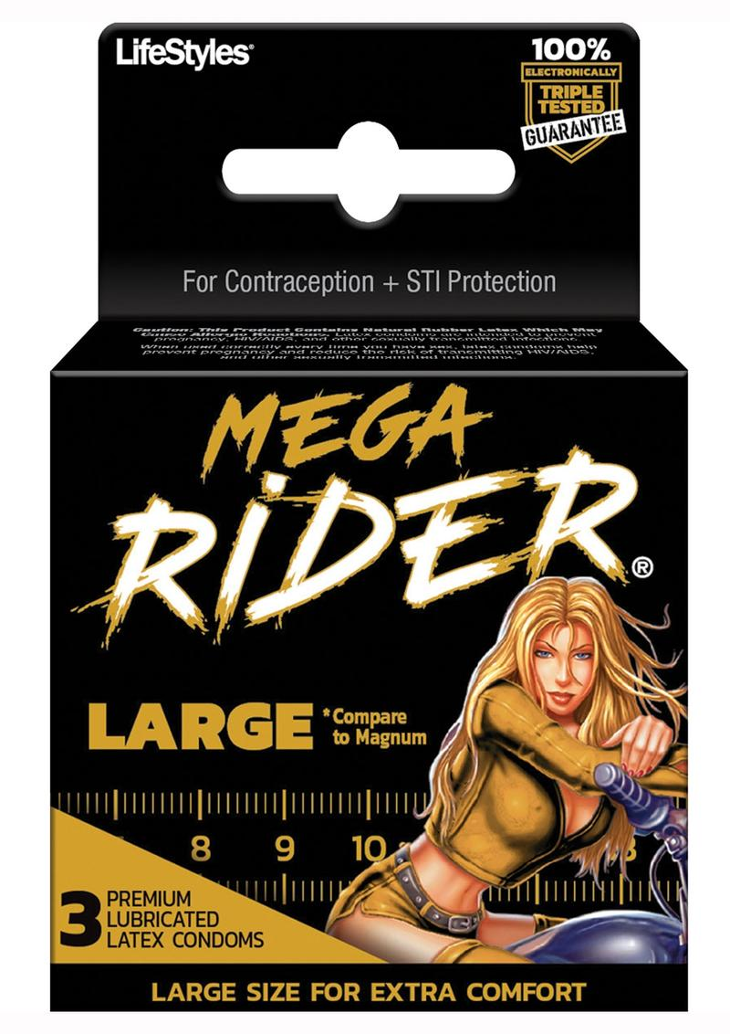 Mega Rider 3`s Condoms