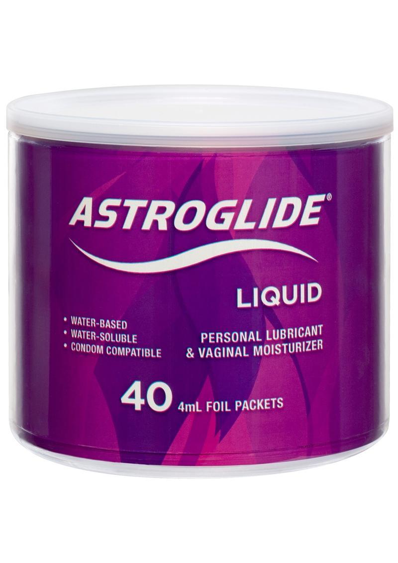 Astroglide 4ml Foil 40/bowl