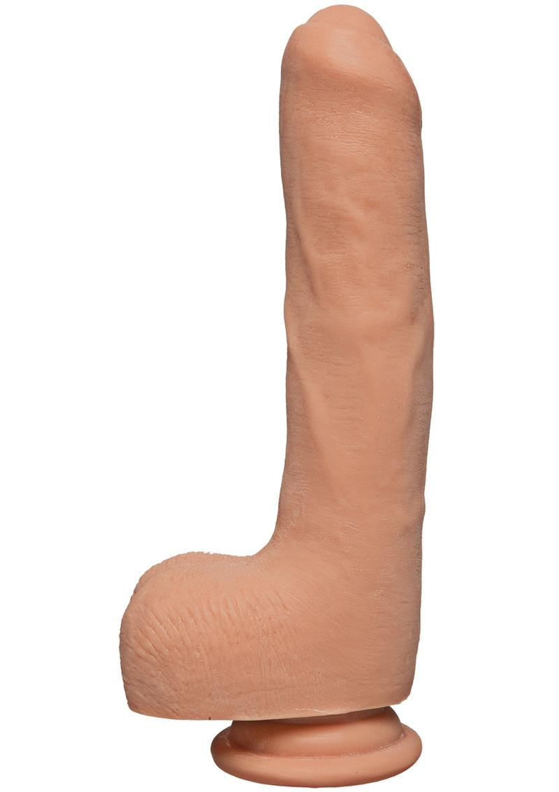 The D Uncut D W/balls Ultrasky 9 inch Dildo Non Vibrarting